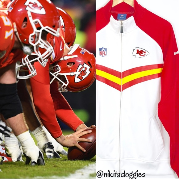 Wholesale Reebok Jackets & Coats | Nfl Onfield Kansas City Chiefs Full Zip  for cheap